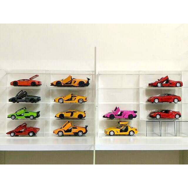 【積木城市】壓克力展示盒 B081 適用 7-11 利曼 TOMICA TOMY 多美 長車 模型車 TUSM TUSM
