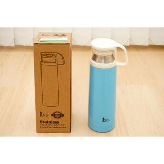 全新★ 1base 304不鏽鋼時尚保溫杯 天藍色 500ml 保溫壺 保溫瓶 新北市