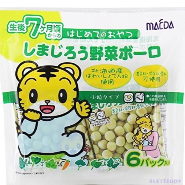 新貨到】巧虎嬰兒蛋酥/迷小饅頭(蔬菜) 6小袋入72g (7個月以上嬰兒適用 ...