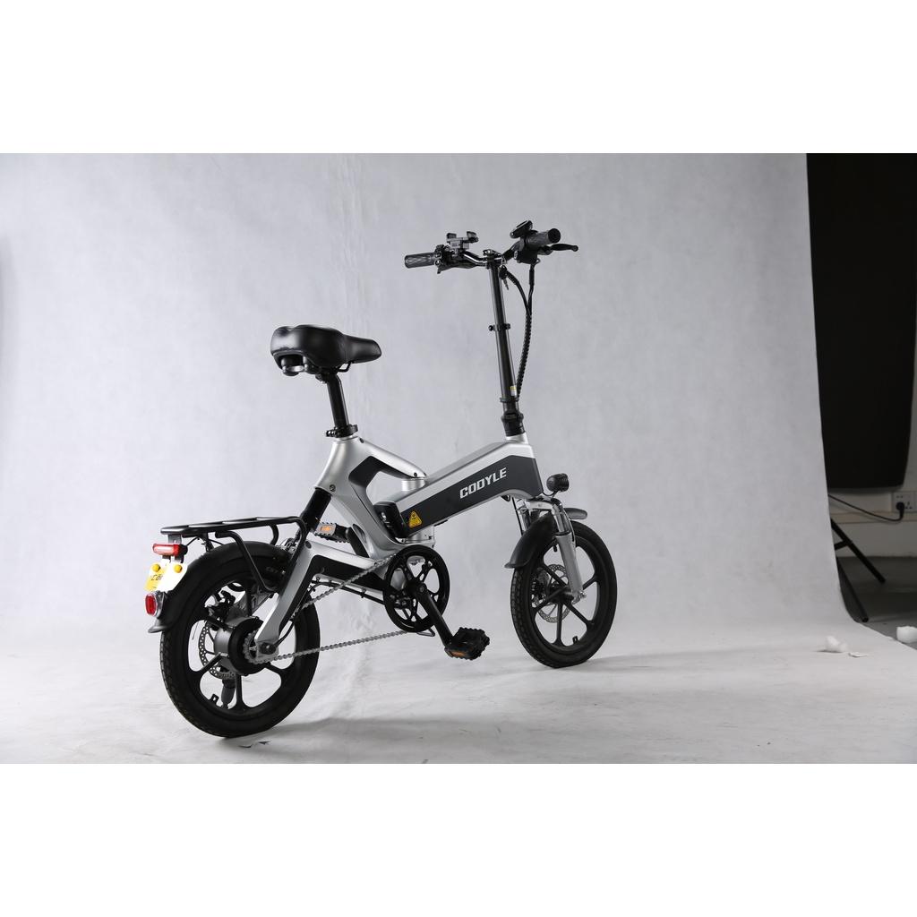 【現貨】德國電助力車 GDANNY K6 plus 帶純電模式 折疊電動自行車