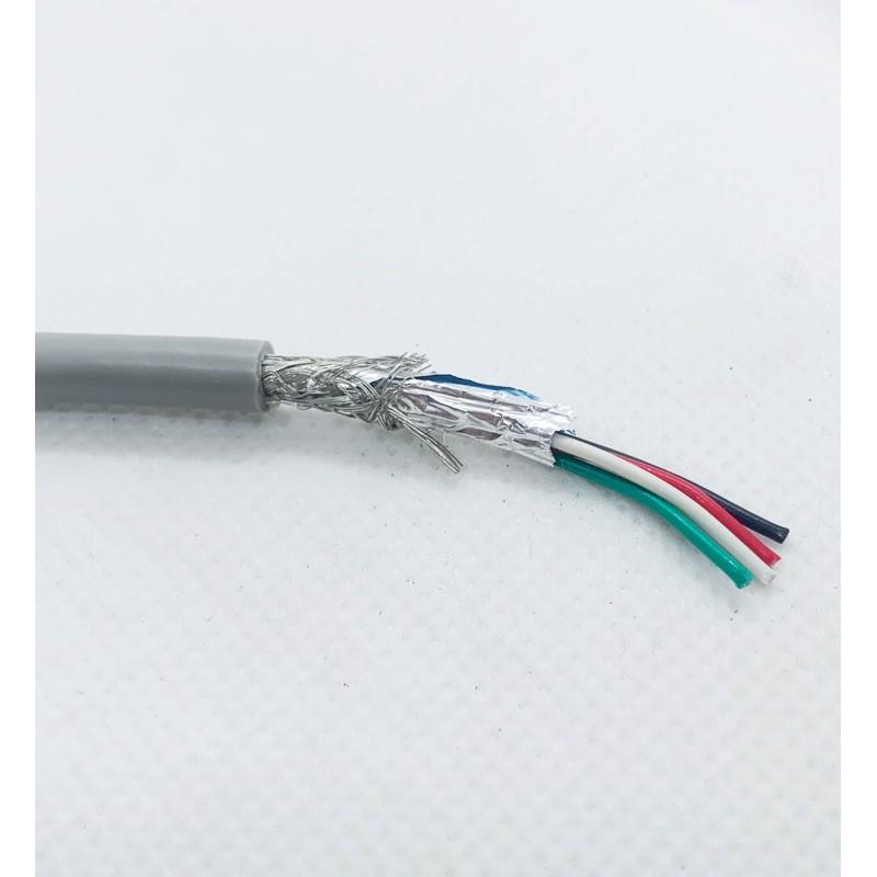 UL2464 雙隔離線 24AWG 1P(2C)  訊號隔離 訊號干擾 隔離網線