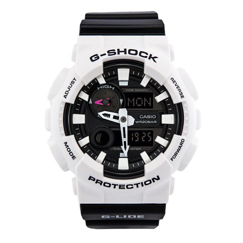 卡西歐手錶男高達G-SHOCK學生白武士白虎GAX-100A-7A 100B 1A 4 yOOz