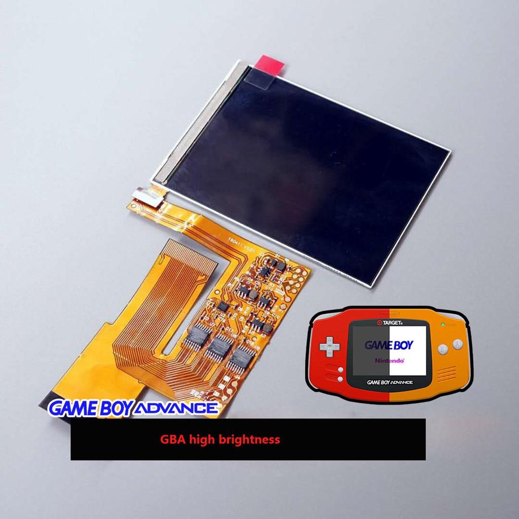 任天堂GBA遊戲機高亮液晶屏 GBA加亮屏 Gameboy Advance改高亮配件 10級高亮度 IPS背光LCD