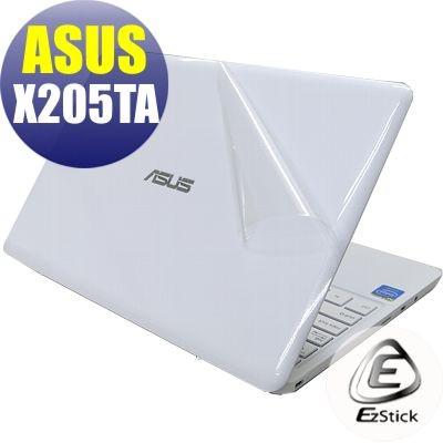 【EZstick】ASUS X205 X205T X205TA 二代透氣機身保護貼(上蓋、鍵盤週圍及底部 3片式)