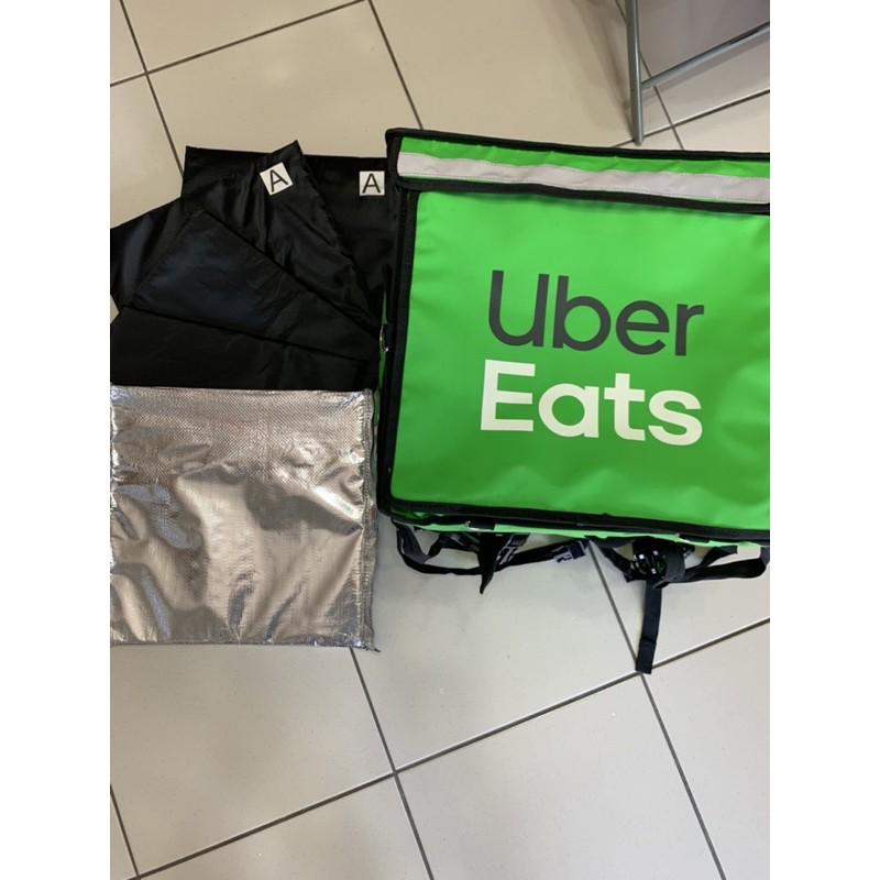 (請先看內文)最後1組9成新下殺830元/組UberEats 四代保溫袋 上掀式官方保溫袋 原廠保溫袋保溫包