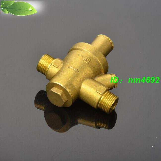 💧熱銷 加厚黃銅熱水器減壓閥自來水管道減壓閥外絲減壓閥穩壓閥凈水減壓