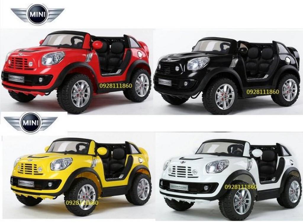 Mini Cooper兒童電動車BMW原廠授權兒童搖控電動車雙座位雙驅雙馬達Beachcomber附搖控器兒童超跑俱樂部