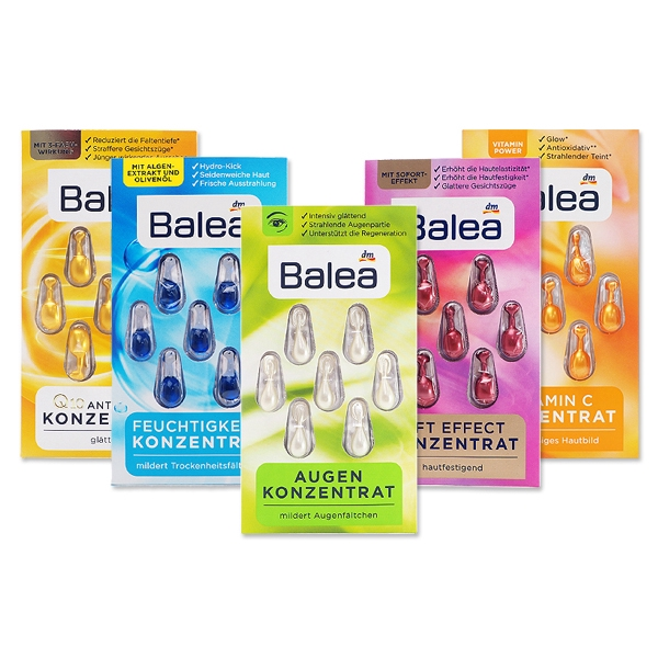 BALEA - Oil Concentrate (3x7 pcs)