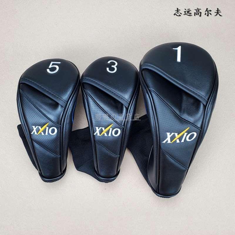 高爾夫球套 XX10高爾夫球桿套 桿頭套 帽套 球頭套 球桿保護套木桿套XXIO@璐璐
