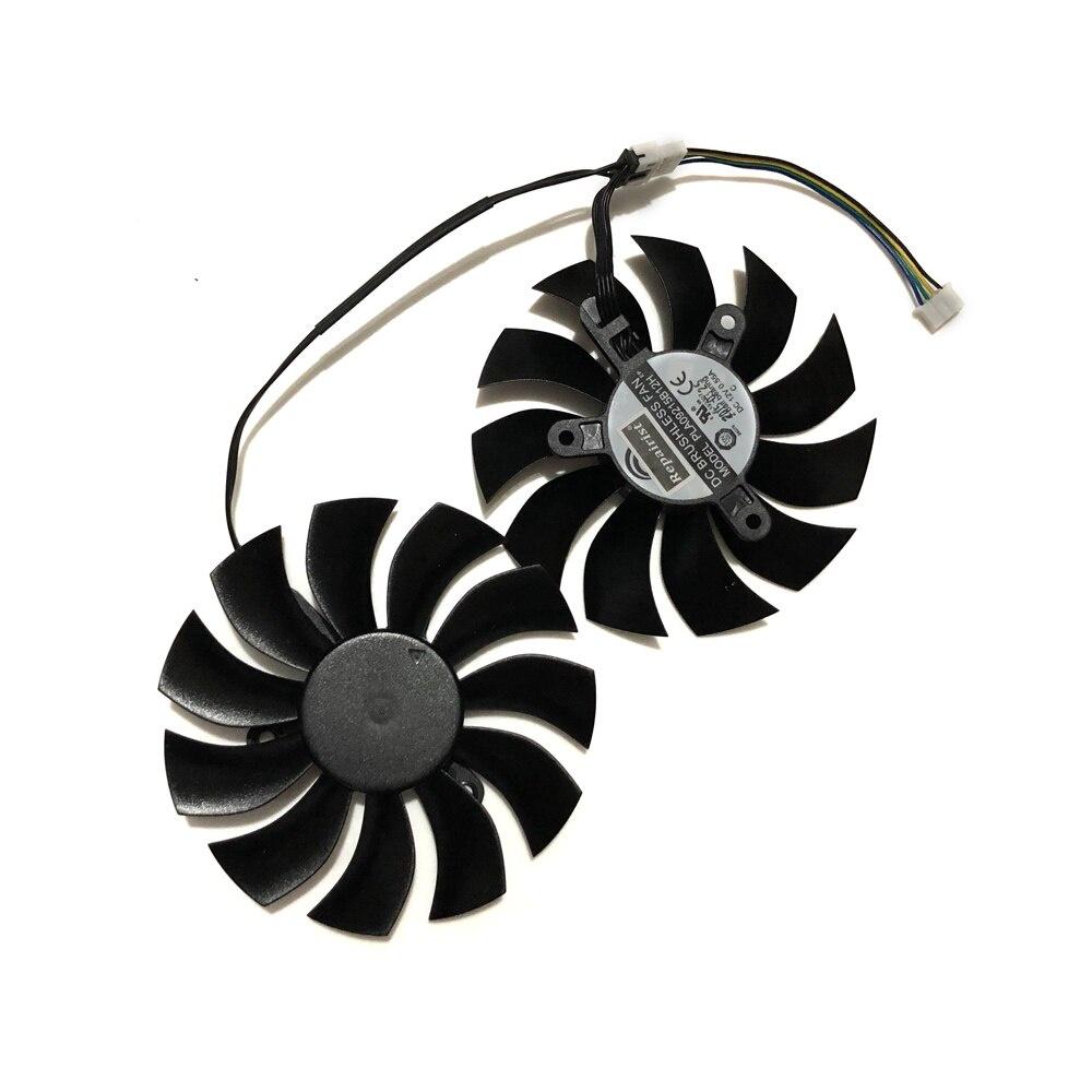 Evga GTX970 GTX 970 / 750Ti GPU 圖形卡冷卻器風扇為 EVGA GTX970 GTX750