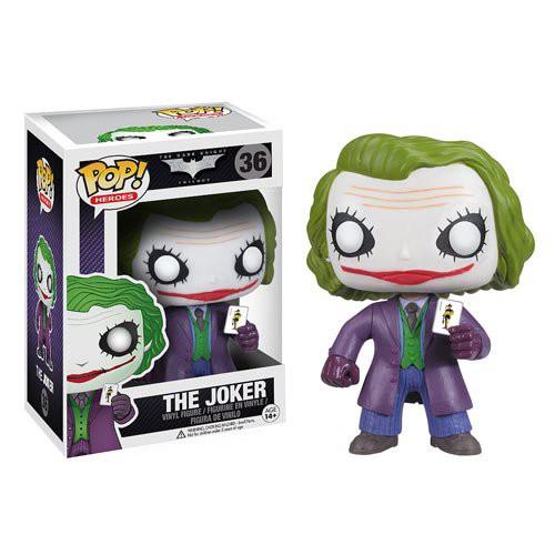 【美國正品】現貨 美國Funko POP!蝙蝠俠黑暗騎士Batman 小丑Joker 玩偶手辦