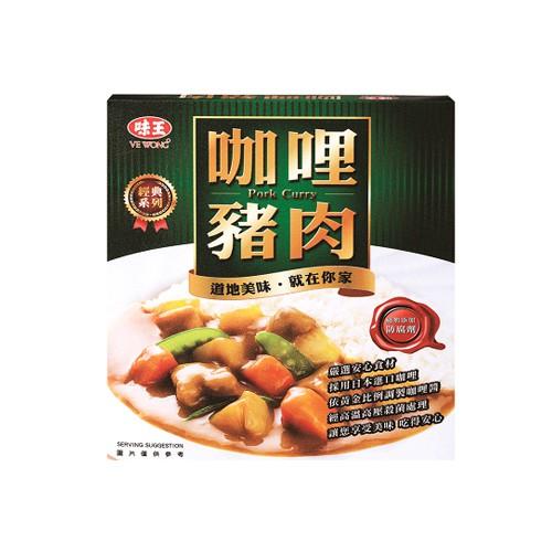 味王 咖哩豬肉200G*3包/盒【愛買】