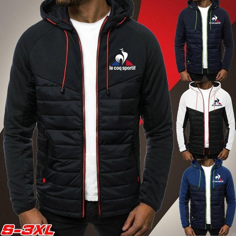 男士時尚Le Coq Sportif羽絨外套秋冬青少年夾克休閒運動外套男生外套