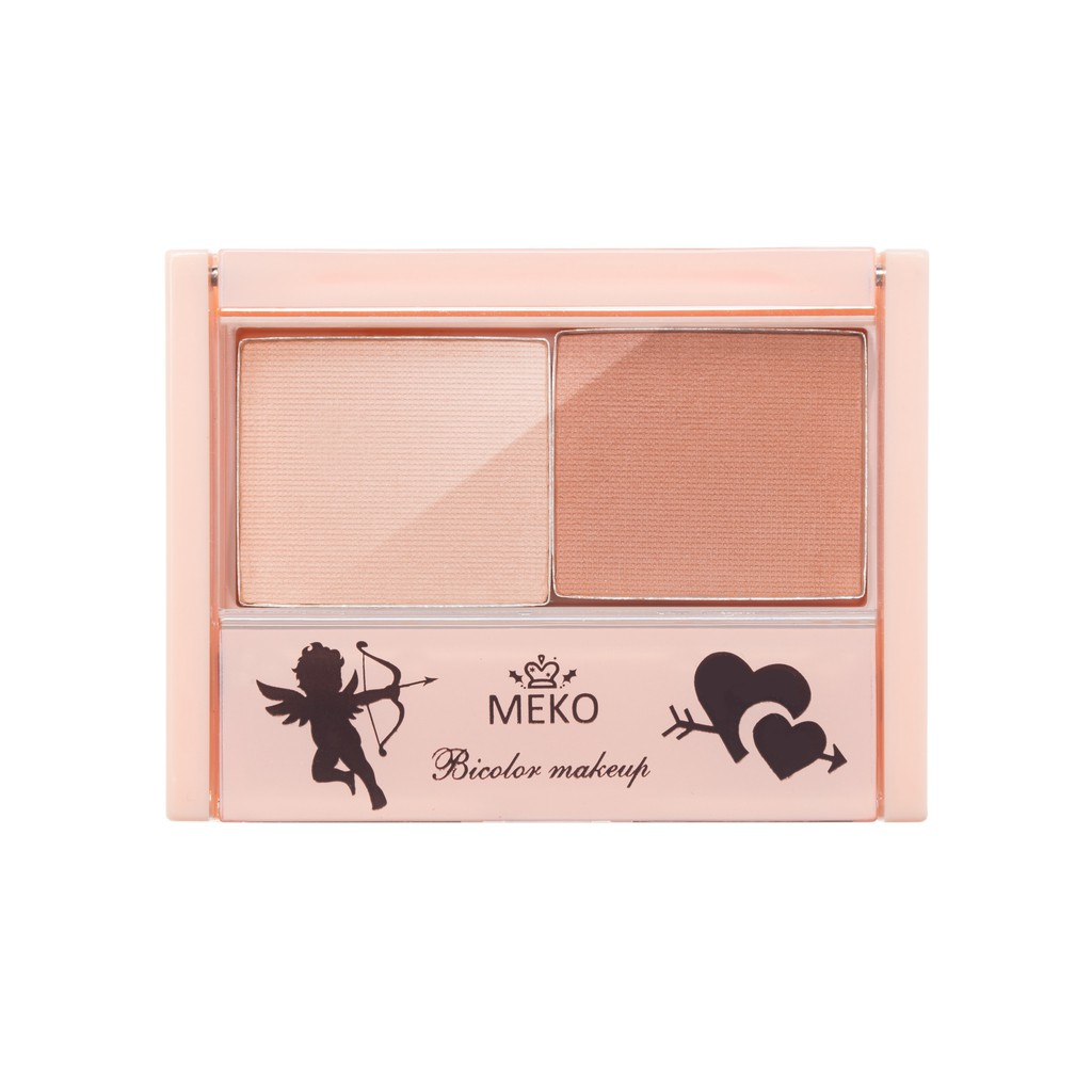 MEKO 雙色腮紅 - 粉桃甜頰 V9422 (袋裝)