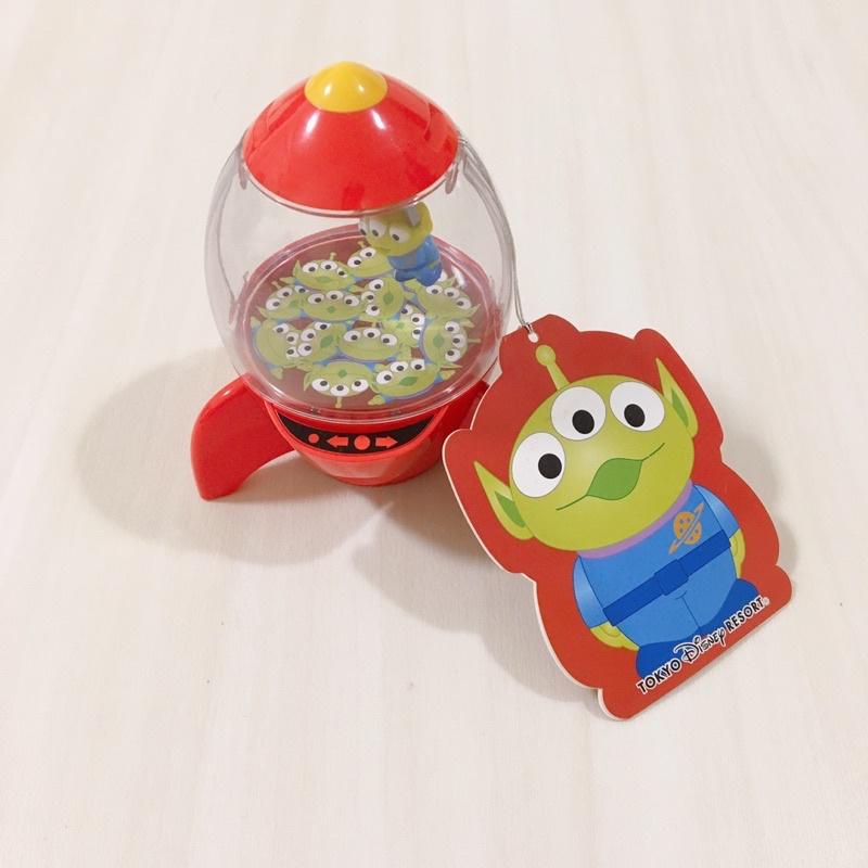 日本東京迪士尼 玩具總動員 三眼怪 火箭 糖果罐