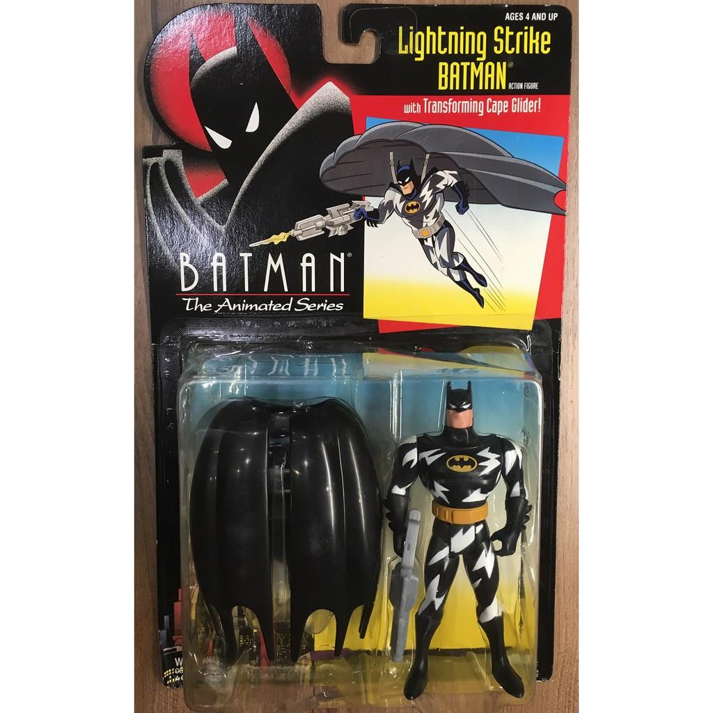 [蝙蝠俠017]Kenner 1993 動畫系列 Lightning Strike Batman 5吋 吊卡 稀有出清