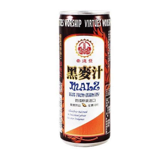 崇德發 黑麥汁 250ml
