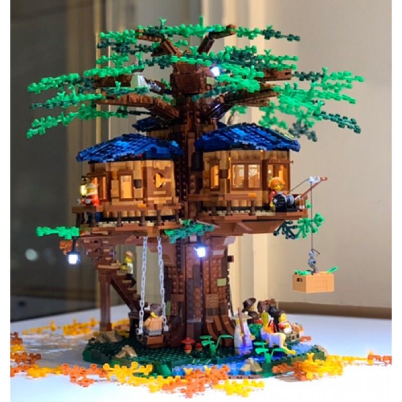 『LED燈組(不含盒組)』樂高燈組 Lego Light 21318 Ideas 樹屋 (預購)
