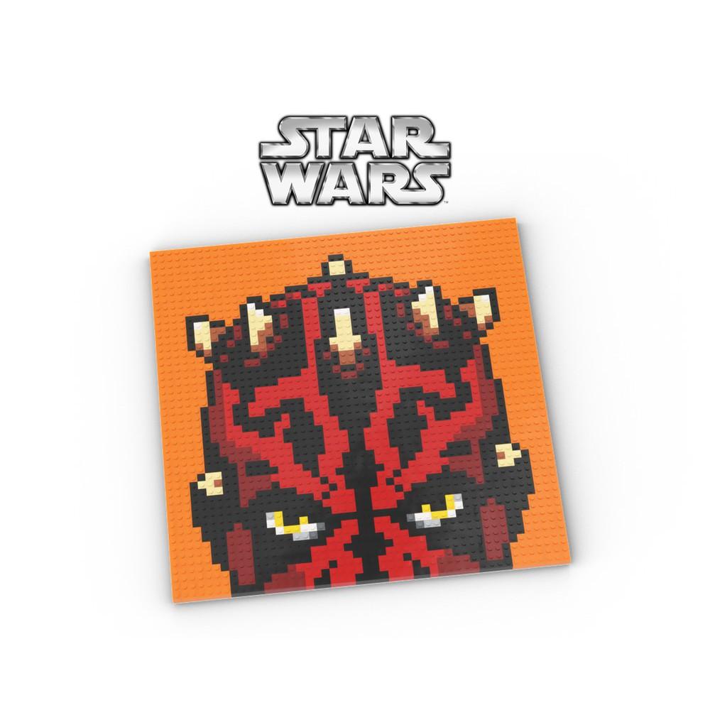 《傑克玩樂高》LEGO Art(全新樂高零件)星戰 StarWars 達斯魔 moc 馬賽克 31200 10701