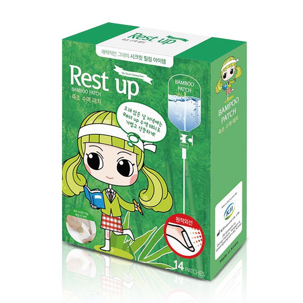 【Tsuie】Rest Up 足底舒適貼片-竹醋液 [ㄧ般款] (14入)