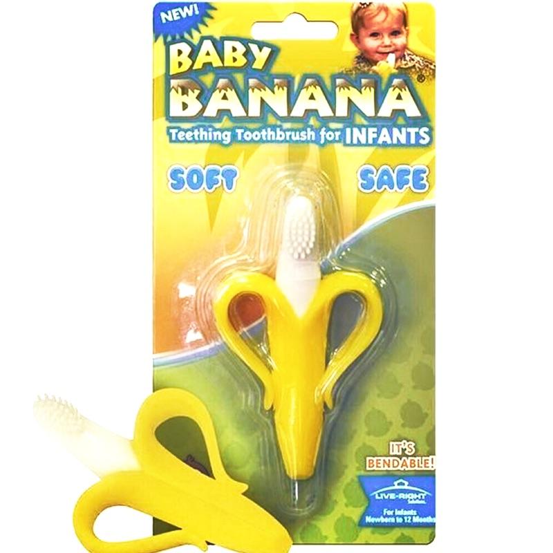 🔥 現貨 🔥 美國 Baby Banana 兒童固齒器 牙刷
