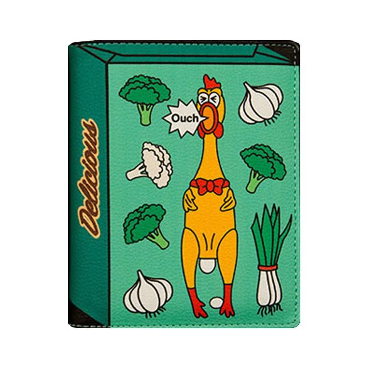 [現貨] 普普風包裝盒造型護照包 證件夾 護照夾