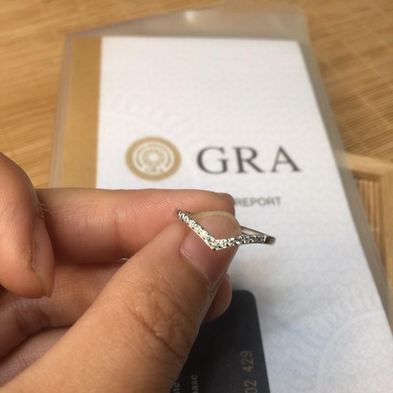 《 GRA莫桑鑽石💎 》戒檯925銀💎