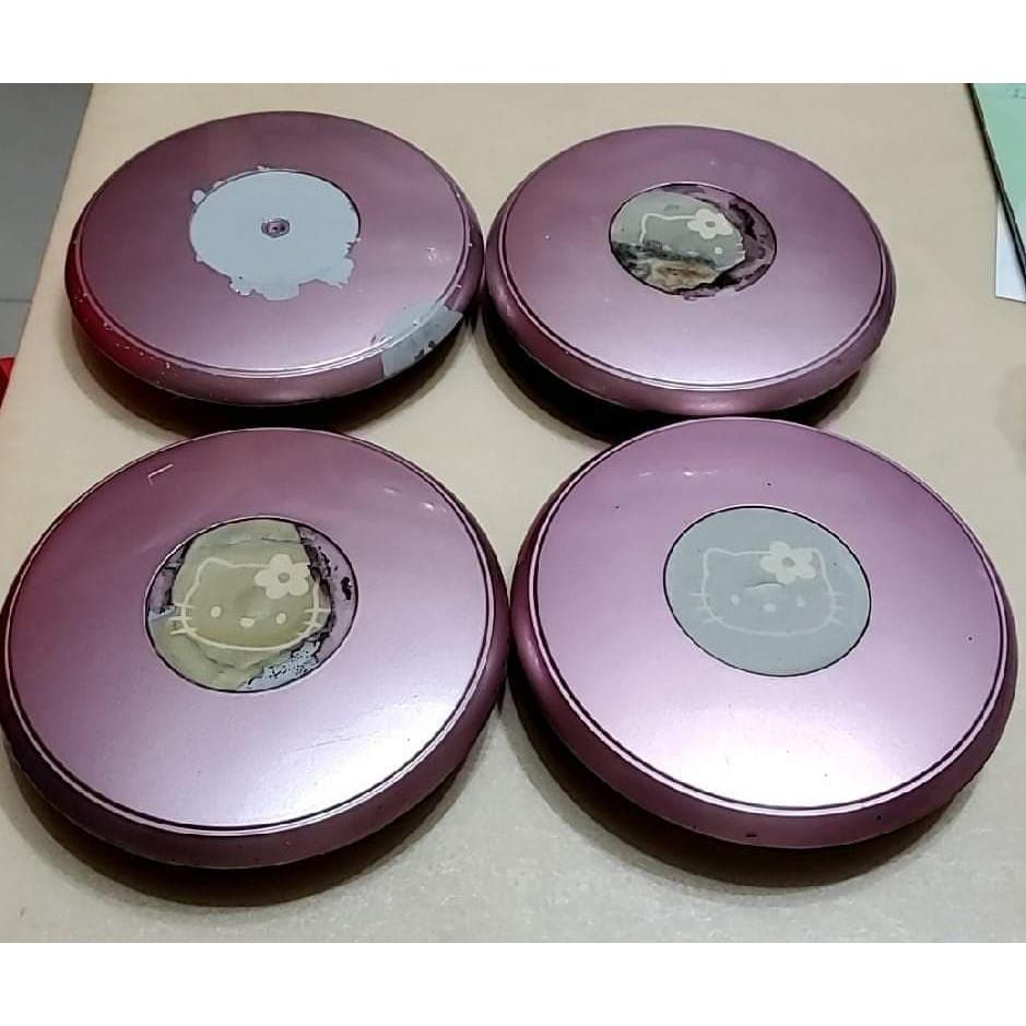 二手 Hello Kitty March專用輪圈蓋 一組四個 可在三重自取