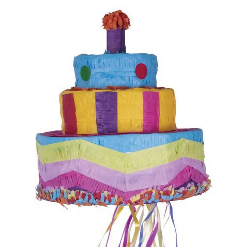 派對用品 Party Time 生日蛋糕皮納塔 玩具反斗城