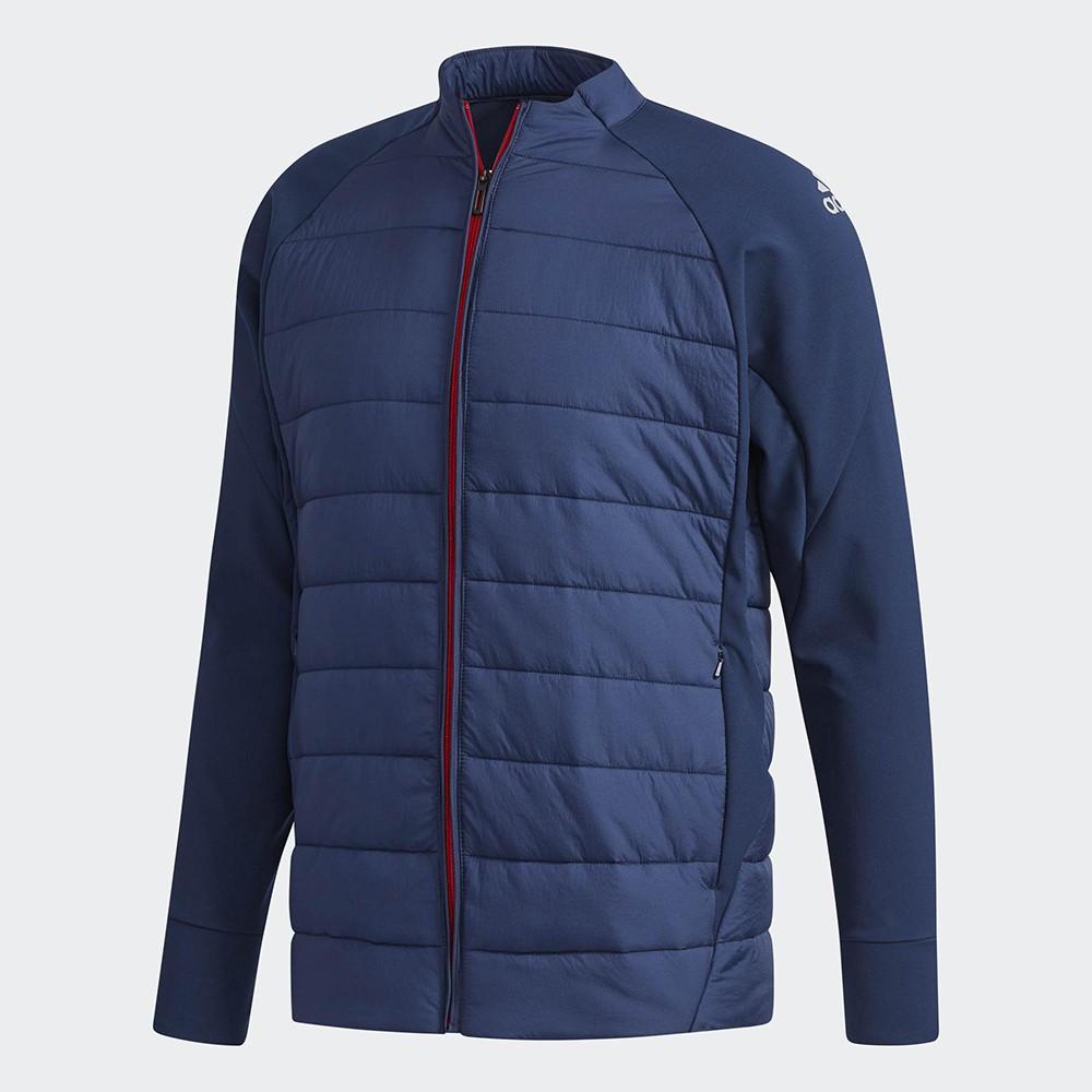 ADIDAS WK PADDED JACKET 男裝 外套 立領 休閒 保暖 防潑水 藍【運動世界】CZ2168