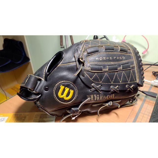 棒球打擊手套成人專業訓練手套Wilson A2115 投手手套 棒球手套 壘球手套