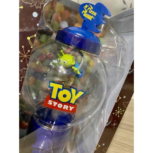 收藏釋出 迪士尼 三眼怪 28公分高扭蛋機 玩具總動員 糖果罐