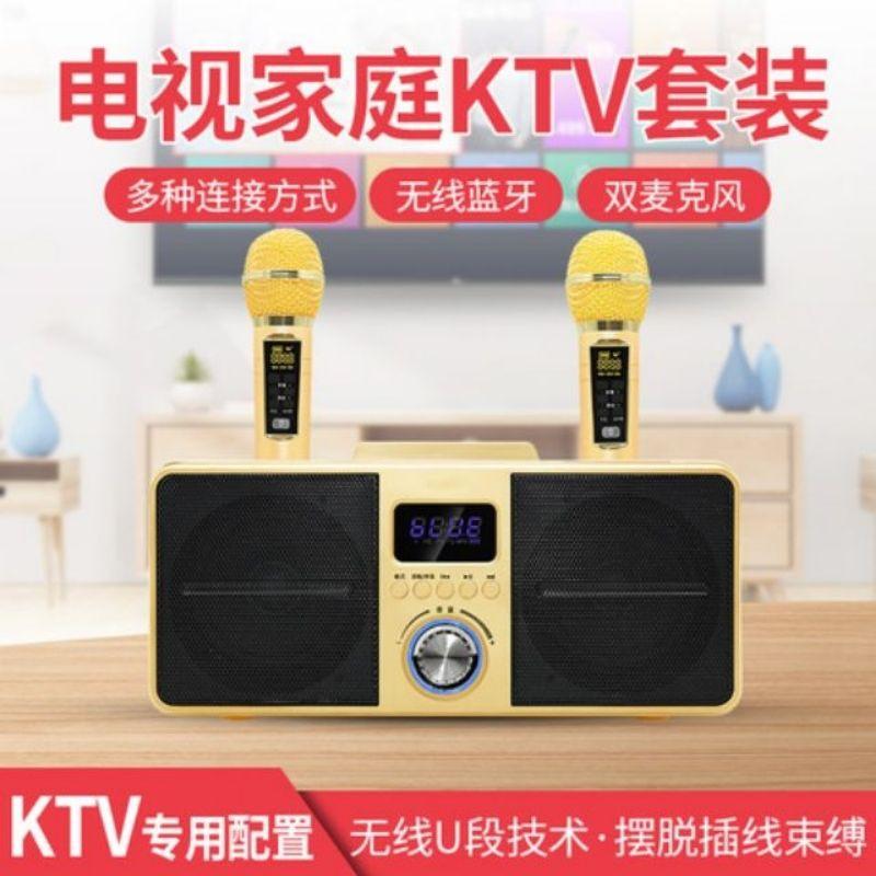《現貨正版》SD309, SD家庭歡唱KTV, K歌音箱,藍牙麥克風,藍牙喇叭,一鍵消音,卡拉OK機