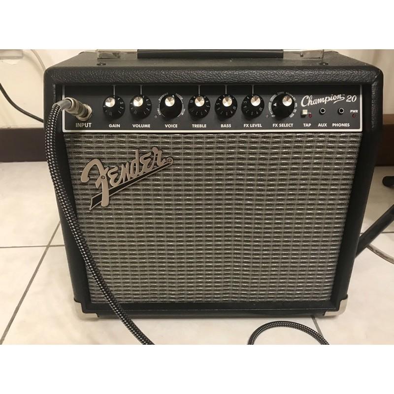 Fender音箱 champion 20