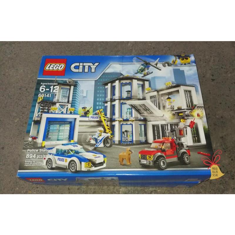 【William】樂高 LEGO 60141 警察局 2017年新款 城市系列 全新