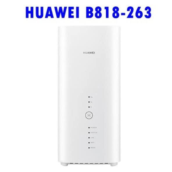 華為 B818-263 4G CA 路由器 分享器 sim卡 盒裝 含一組室外天線 中文介面 B715 B525s 參考