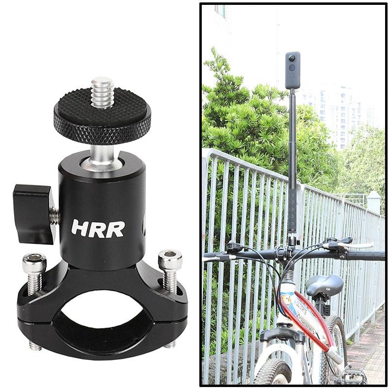 自行車自行車安裝車把支架隱形自拍杆 ,1 / 4 螺紋, 用於 Insta360 ONE X, EVO, 一台全景運動相