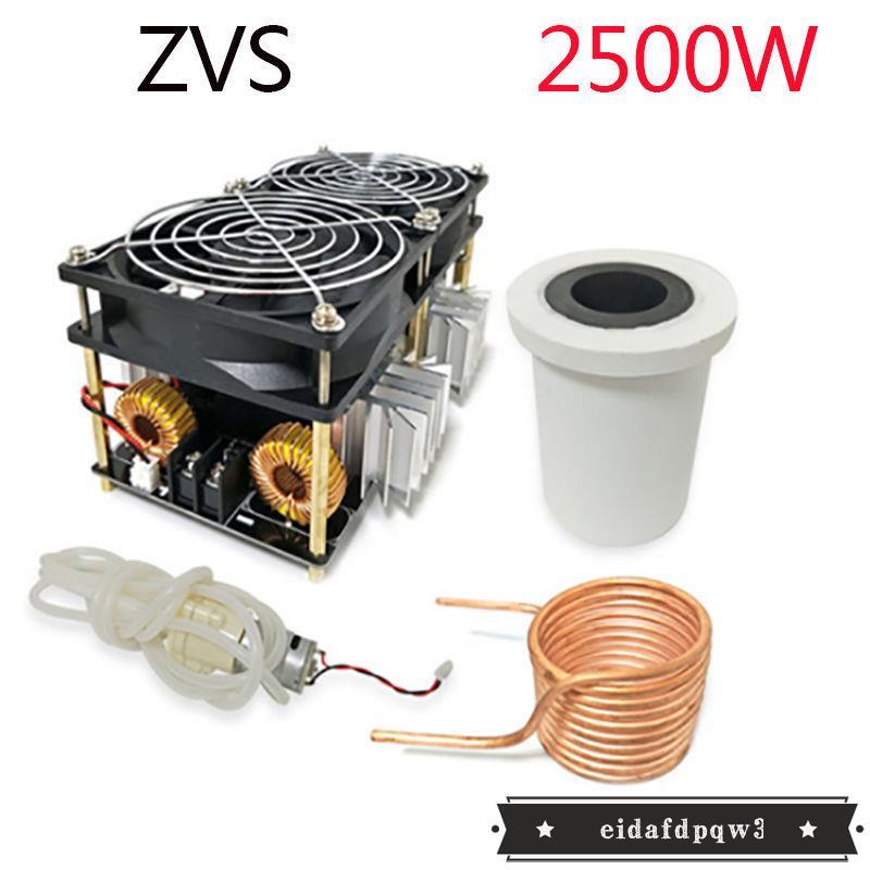 熱銷##ZVS高頻感應加熱2500W大功率高頻淬火銅管加熱空調管焊接鋼管加熱