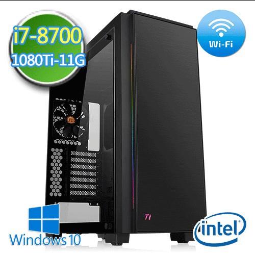 技嘉B360平台【戰禍雷帝】i7六核 GTX1080Ti-11G獨顯 1TB效能電腦