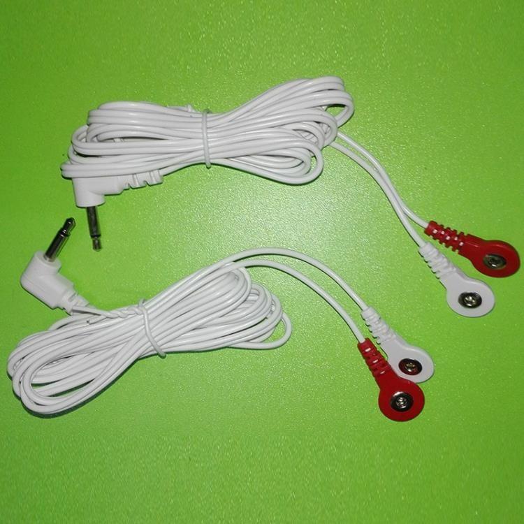♥『尚美兒樂居』♥ 按摩器歐姆龍按摩儀導線低頻理療貼片連接電極線OMRON低周波電線HV-F900