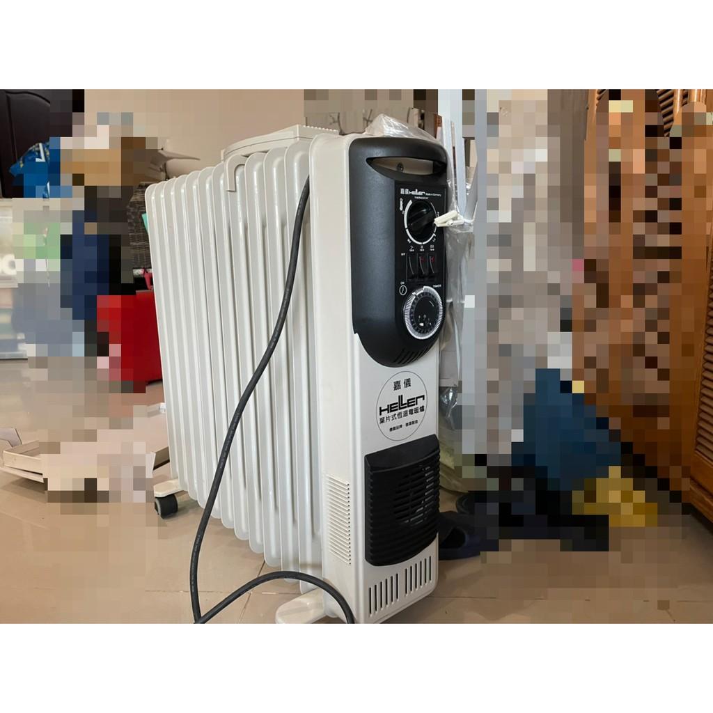 二手 嘉儀 葉片式電暖器 12片 KE12TF 只能面交