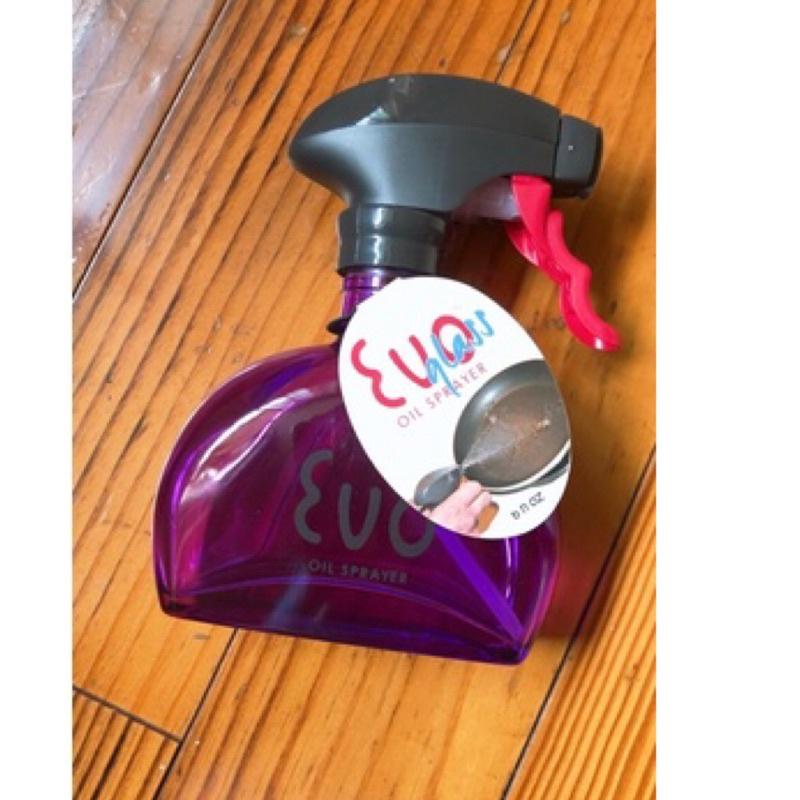 美國🇺🇸EVO 超好用 玻璃 噴油瓶 180ml evo oil sprayer-紫色