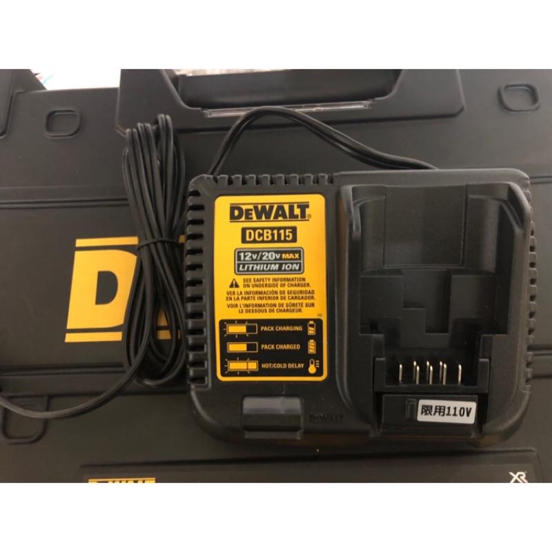 工具行者~得偉 Dewalt DCB115 充電器