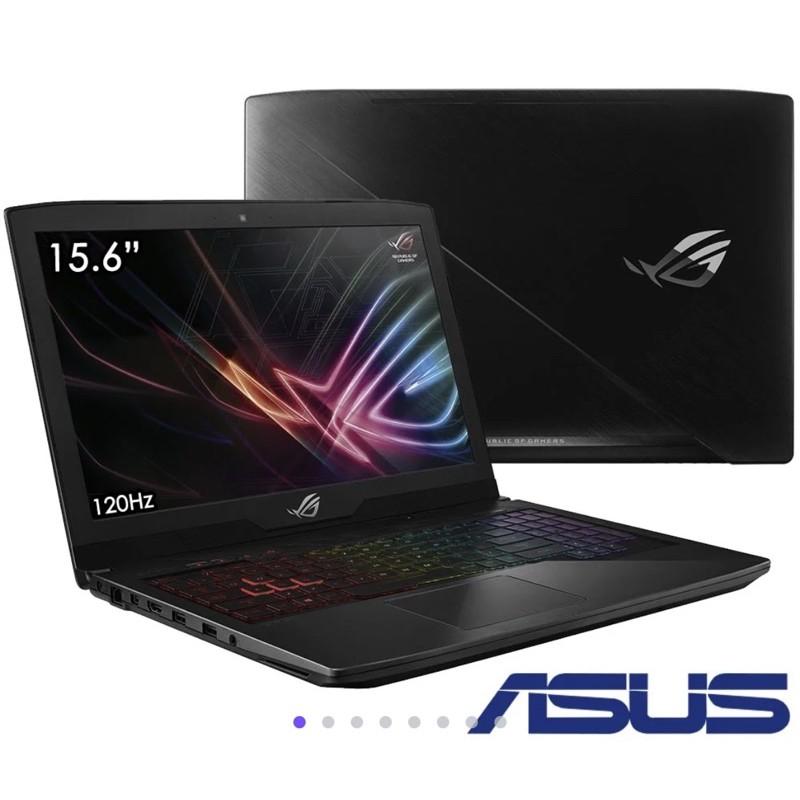 (二手) ASUS GL503VD 15吋電競筆電(i7-7700/GTX1050/128G+1T/8G)