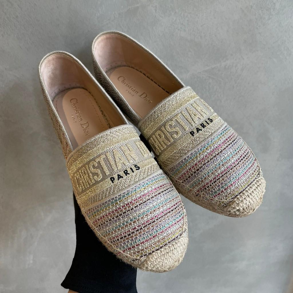 【GO時尚國際精品】DIOR GRANVLLE 彩色漁夫鞋