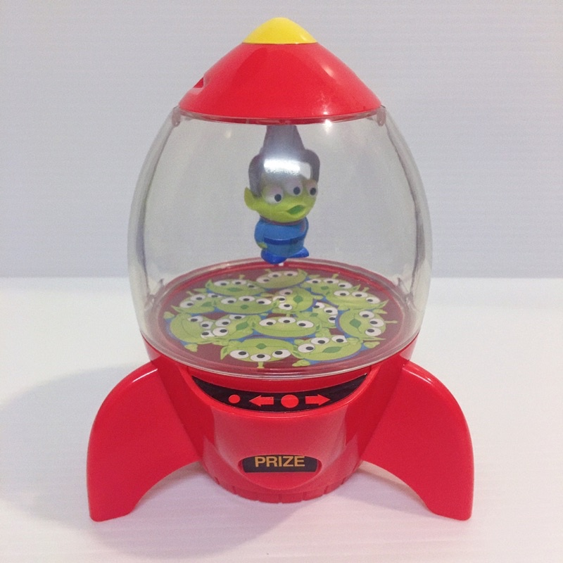 ఠఠ్రఠ 迪士尼 皮克斯 三眼怪 玩具總動員 火箭 造型 收納盒糖果罐