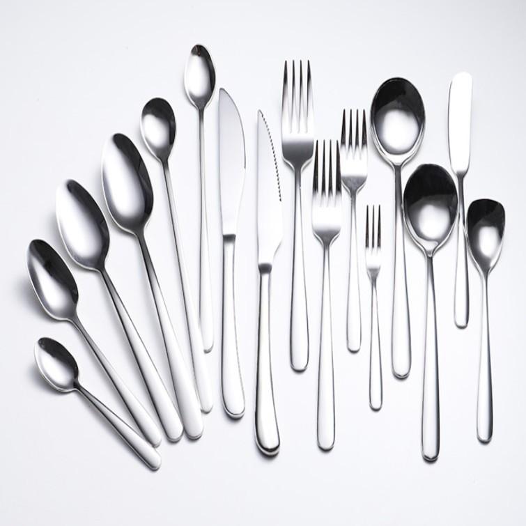 304食品級不鏽鋼餐具 叉子 水果叉 湯勺 牛排刀 勺 餐刀 叉勺 不鏽鋼筷 沙拉叉 餐具組 湯匙 筷子 餐具 環保餐具