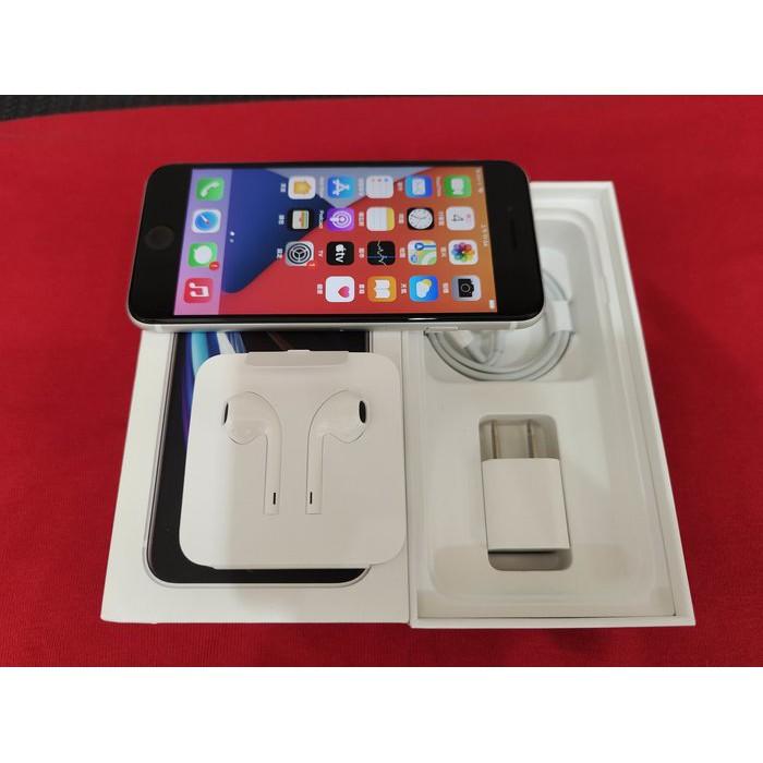 ※聯翔通訊 台灣原廠已過保固2021/5/10 白色 Apple iPhone SE2 128G 原廠盒裝※換機優先