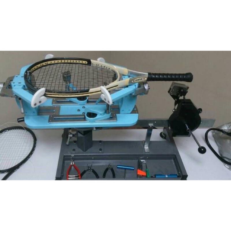 (羽球世家)教練級 專業羽網球穿線機 MIT 四點式 手動穿線機