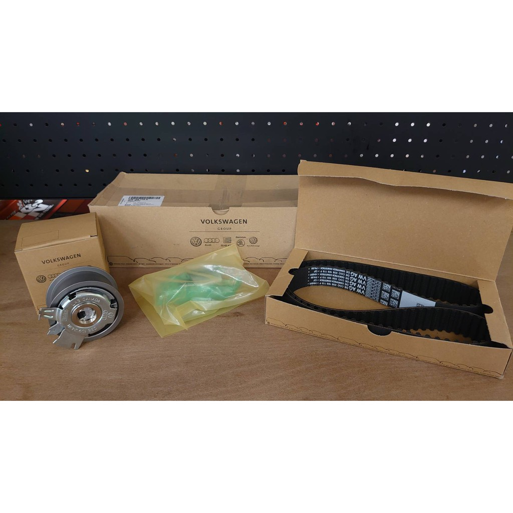 『海威車品』德國原廠 GOLF 5 1.9TDI 時規皮帶組 正時皮帶組 038198119A